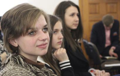 В Чернигове молодежь говорила о призвании, миссии и профессии