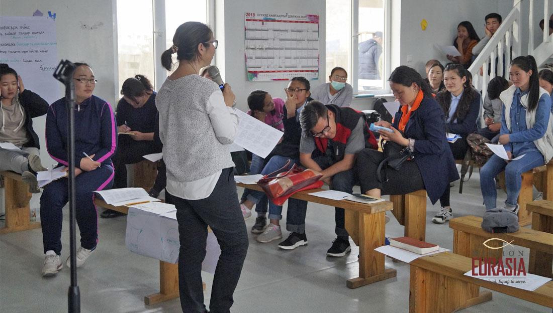 В степях Монголии. Очередная сессия Школы без стен собрала 60 лидеров миссионерских команд страны