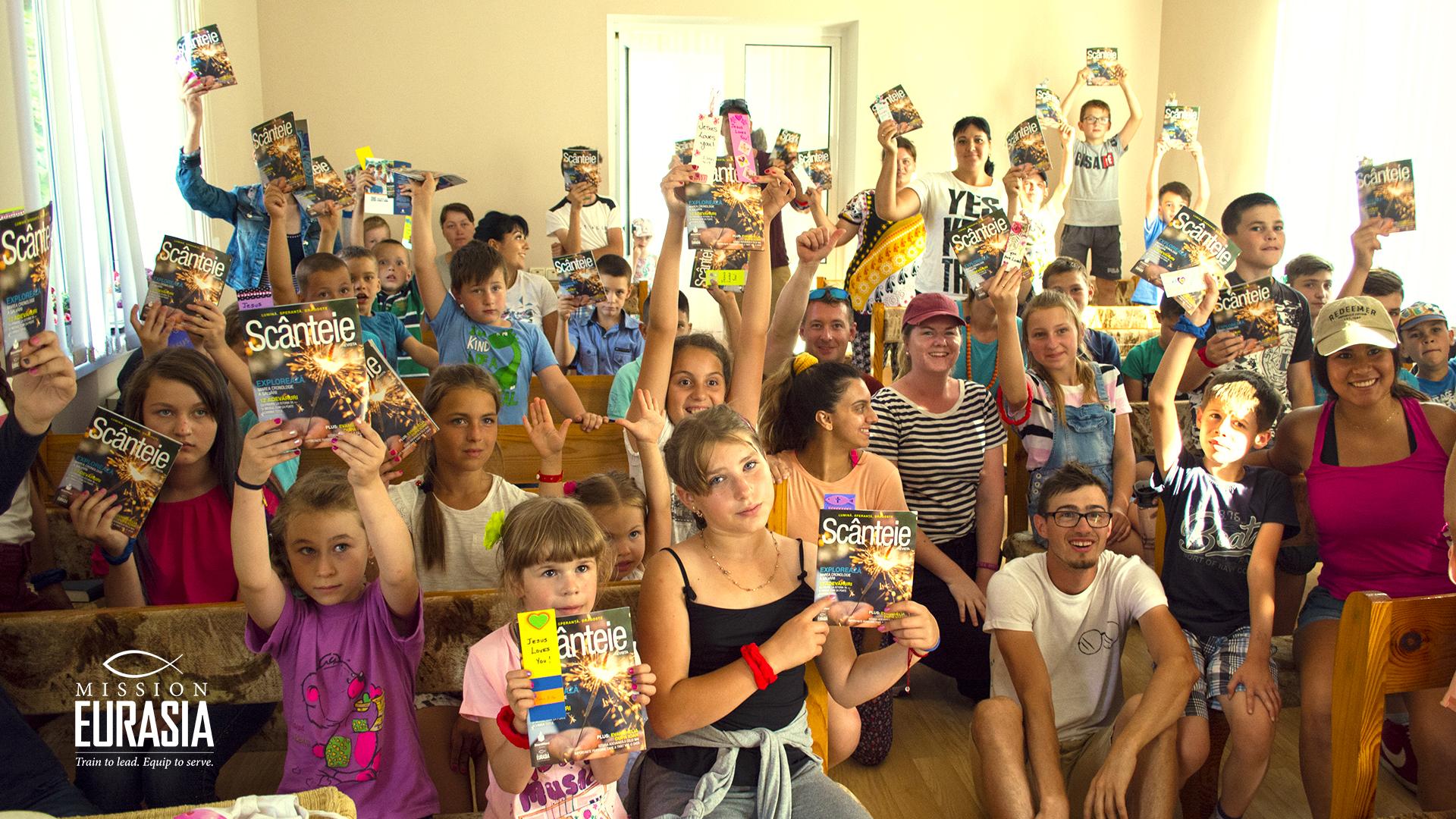 Миссия по распространению Божьего Слова в Молдове осуществлялась силами студентов «Школы без стен»