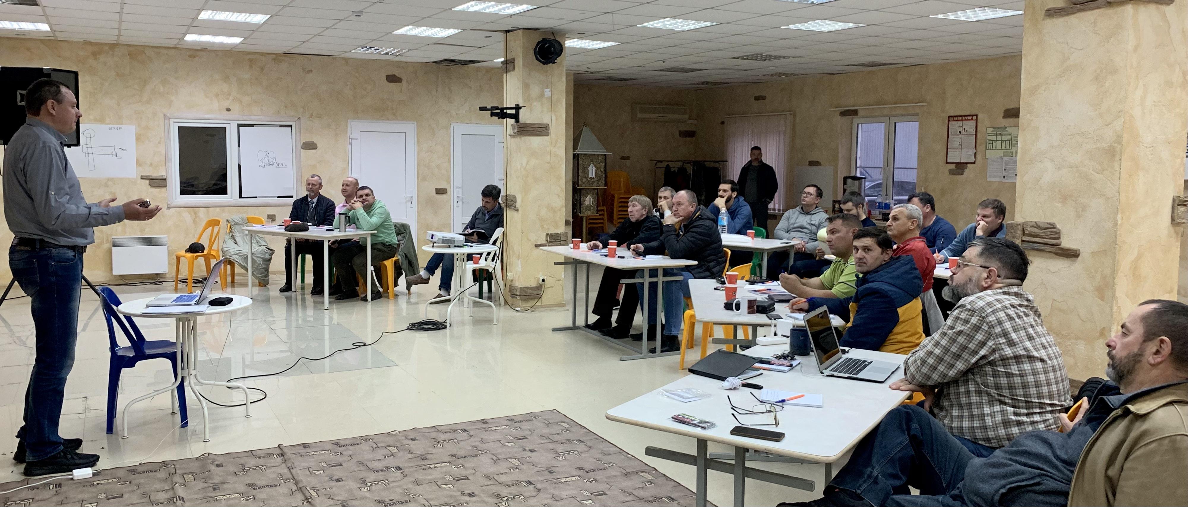 О духовном восстановлении говорили на тренинге для основателей новых общин